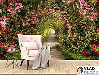Фотообои Арка из цветов по Вашим размерам