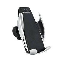 Автодержатель Penguin Smart Sensor S5 для телефона с функцией беспроводной зарядки подставка в машину