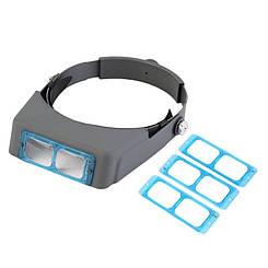 Лупа бинокулярная Magnifier  стекло используется для работы с мелкими объектами C