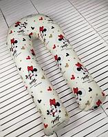 Зручна подушка для вагітних U-подібна Міккі Маус, подушка обнімашка