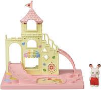Sylvanian Families Calico Critters Детская игровая площадка 5319 Baby Castle Playground, фото 1