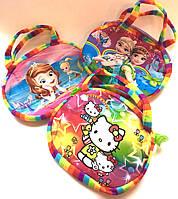 Детская сумочка радужная  15 х 18 см