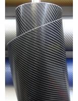 Карбоновая пленка 2D глянцевая черно- серебристая 1,27 м
