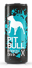 New Products Group Non-alcoholic energy drink Pit Bull X 0.25 L