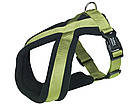 Шлея для собак Classik Comfort Nobby, нейлон-флис, S/ 35-50 см, Синий, фото 4
