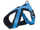 Шлея для собак Classik Comfort Nobby, нейлон-флис, S/ 35-50 см, Синий, фото 5