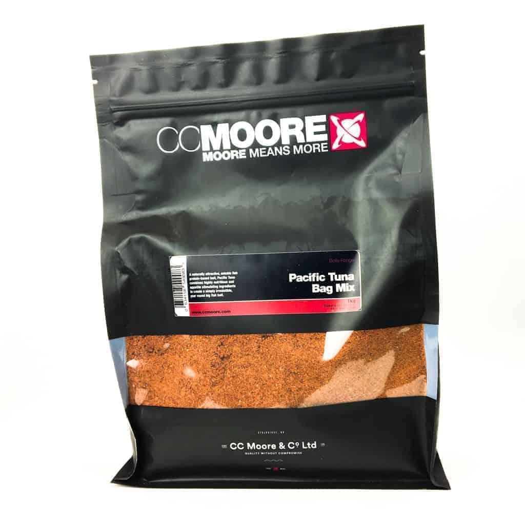Сыпучая смесь для стиков и пва мешков CCMoore Pacific Tuna Bag Mix (тихоокеанский тунец)  3кг