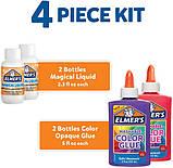 Elmer's Стартовый набор для создания цветных слаймов слайм 2062233 Color Slime Kit, фото 4