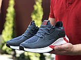 Мужские летние кроссовки Adidas,серые,сетка, фото 2