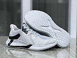 Мужские летние кроссовки Adidas,светло серые, сетка, фото 3