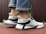 Мужские летние кроссовки Adidas,светло серые, сетка, фото 5
