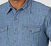 Рубашка джинсовая Wrangler - Light Wash, фото 4
