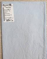 Льняная наволочка бледно - голубого цвета
