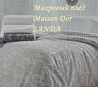 Махровый плед Maison Dor SANDA