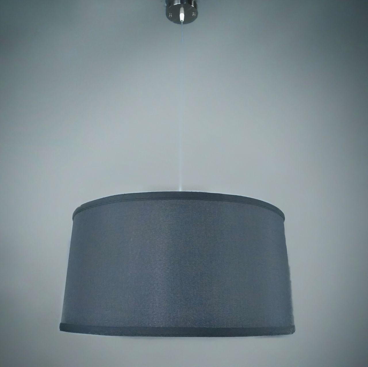 Люстра подвесная на 1 лампу P4503 Черный (40см)TK