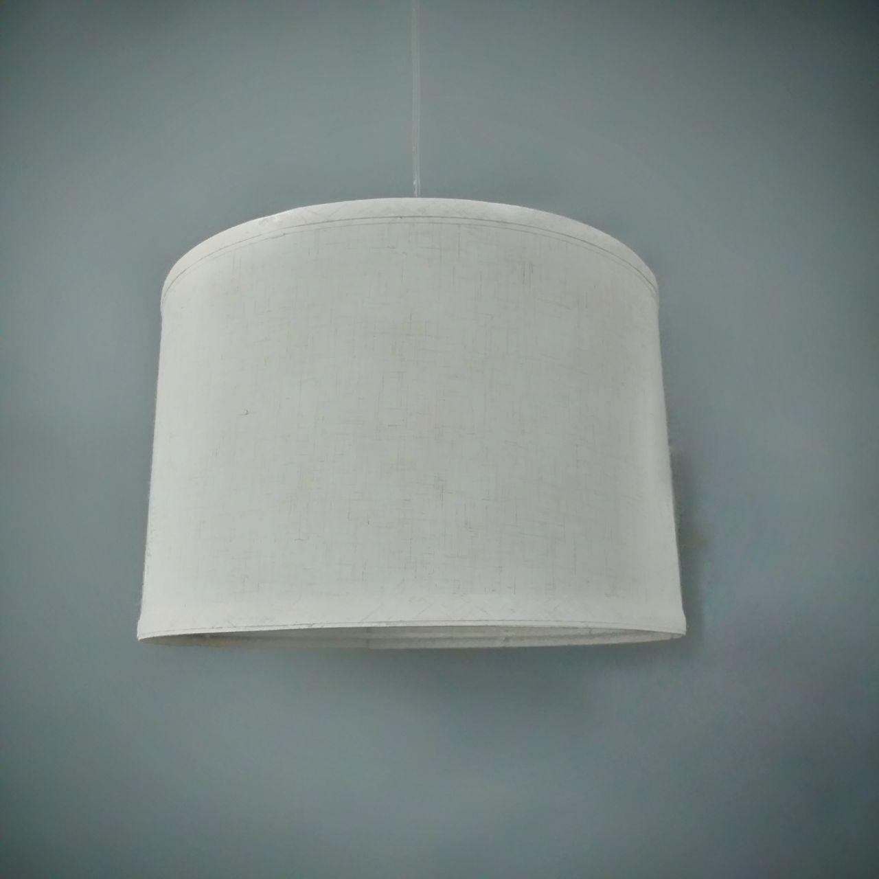 Люстра подвесная на одну лампу P4504 Бежевый(30cm) ТК