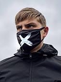 Маска мужская | женская защитная тканевая Off-White XX black