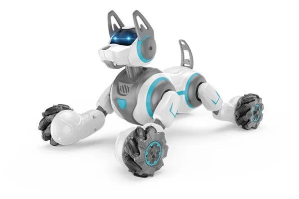 Интерактивная Собака-робот Stunt Dog на радиоуправлении с браслета и пульта