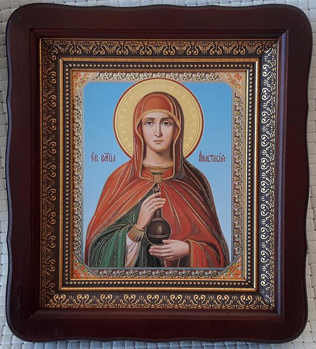 Икона Святая Анастасия для дома 23*26cm