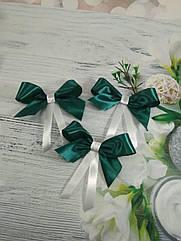 Свадебные бутоньерки-бантики в любом цвете