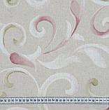 Декоративная ткань Петерс завиток фрезово-оливковый, фото 2