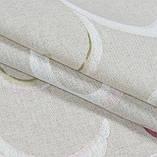 Декоративная ткань Петерс завиток фрезово-оливковый, фото 4
