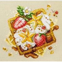 Набор для вышивания, Чудесная игла «Венские вафли»