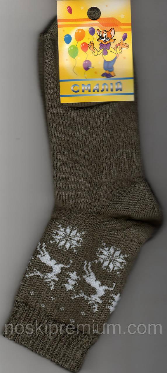 Носки детские х/б махровые Смалий, 22 размер, рисунок 19, 10546