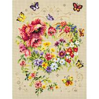 Набор для вышивания, Чудесная игла «Сияние сердца»