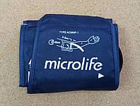 Манжета Microlife для электронных тонометров. Окружность руки от 22 до 32 см. на 1 трубку нейлон с кольцом.