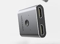 Сплиттер Vention HDMI 1х2 AFUH0 Коммутатор Разветвитель