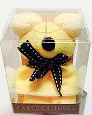 """Оригинальный сувенир Подарочное полотенце-салфетка Мишка """"cartoon towel"""""""