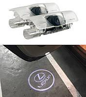 Підсвічування проектор двері LEXUS ES GX LS LX IS RX, фото 1