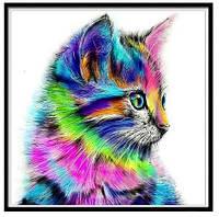 """Алмазная вышивка мозаика  """"Котенок"""", фото 1"""