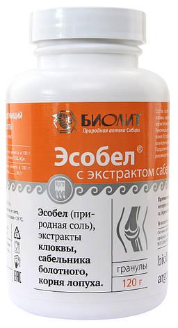 Эсобел напиток с экстрактом сабельника болотного - поддержка суставов, фото 2