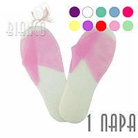 Тапочки Panni Mlada для SPA, сауны, гостиницы с открытым носком, (1 пара), цвета