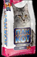 Корм для кошек Пан Кот — Микс, 10кг