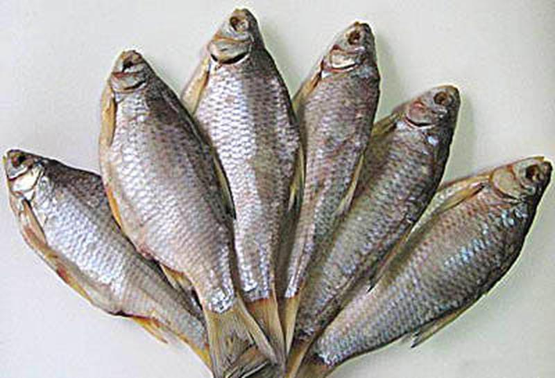 Тарань рыбка вялено- сушённая 1кг