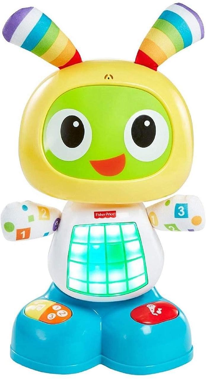 Интерактивная игрушка Fisher Price Робот Бибо на украинском языке FRV58