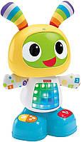 Интерактивная игрушка Fisher Price Робот Бибо на украинском языке FRV58, фото 3
