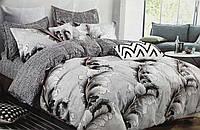 Комплект постельного белья,евро-размер Bayun flannel