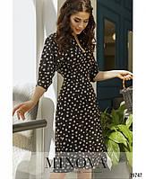 """Оригинальное платье с """"пейзанским"""" рукавом, на талии - две декоративные пуговицы с 42 по 46 размер, фото 3"""