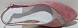 Замшеві босоніжки від виробника модель РИ6006, фото 4