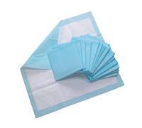 Пеленки 60х60 см, 25 штук впитывающие, медицинские, нестерильные 21VIKT, фото 1