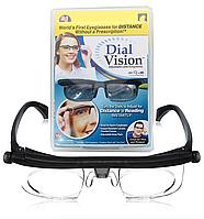 Очки лупа с регулировкой линз увеличительные DIAL VISION (AS SEEN ON TV), фото 1
