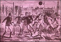 Ранняя история футбола