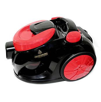 Мощный Пылесос Vacuum Cleaner Crownberg CB 659 3500W красный