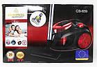 Мощный Пылесос Vacuum Cleaner Crownberg CB 659 3500W красный, фото 4