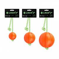 Мячик Liker Lumi со шнуром; 5 см, фото 1