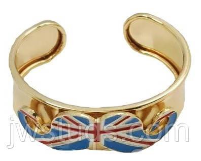 Широкий браслет - Флаг Великобритании